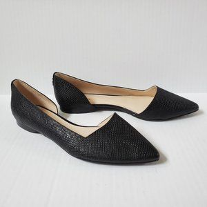 Cole Haan Bambra Snake Embossed Flats 8